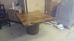 "48"" by 48"" dining table"