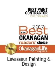 2017 Okanagan Life magazine  ... Best Painting Contractor (South Okanagan)
