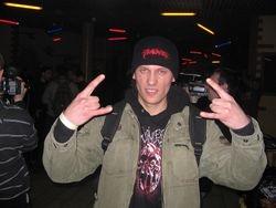 Max in Kiev, Ukraine