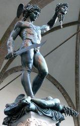 Cellini, Perseua and Medusa, Piazza della Signoria, Florence