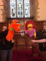 Harris School puppets