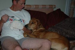 Apollo and dad