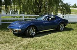 Ed DiNapoli, 1972 Corvette: 10 Top Flight, PV, Duntov Award, 3 Founders Awards, Sam Foltz Award , NCRS Gallery at Carlisle VIII
