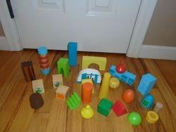 PBS Kids Wood Blocks- 25 Piece - $15