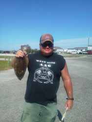 17 inch Flounder  7/31/2012