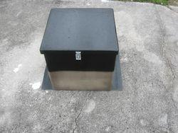 Custom Fiberglass Fountain Box