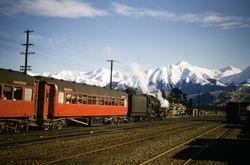 Snow excursion train Springfield