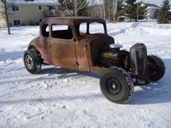 42. 33 coupe hot rod or rat rod project.