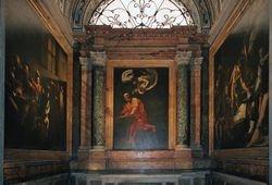 Caravaggio, Life of Matthew, Contarelli Chapel, S. Luigi dei Francesi