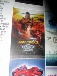 Graphic for My Mini-Review of Star Trek II: The Wrath of Khan in The Top 100 Sci-Fi Films of All Time (and Space) in Starburst Magazine #473: The Top 100 Sci-Fi Films of All Time (and Space) Collectors? Edition