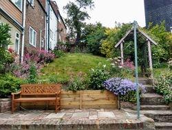 Shared garden at Wren Cottage