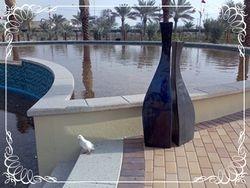 Princess Sabeeka park water feature