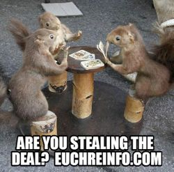 Are you stealing the deal?