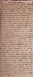 Pheasant, Mary Ann - Part 1 - 1917