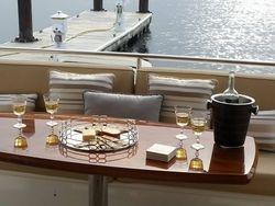 Aft deck living