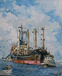 AMSTERDAM le port de commerce