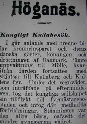 Kung Kristian X 16 juli 1915