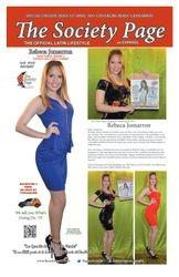 Cover girl Rebeca Jomarron