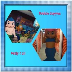 Bubble Guppies Molly & Gil
