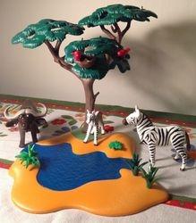 Playmobil waterhole