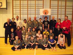 Visit to Camerons School of Martial Arts - Ullapool (January 2012)