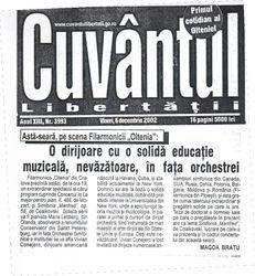 Concert poster, Craiova, Romania
