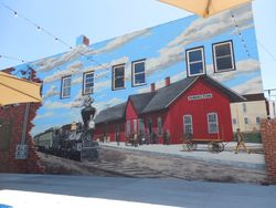 Hamilton Train Mural (2015)