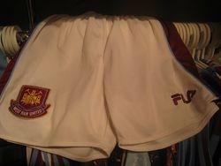 Paolo Di Canio Worn 1999 shorts