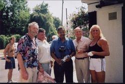 Pat Roach, Wayne Bridges,Prince Kumali, Steve Veidor, Sarah Bridges