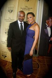 "Big Tigger & Demetria McKinney attended the ""21st Annual Trumpet Awards"" on January 26, 2013"