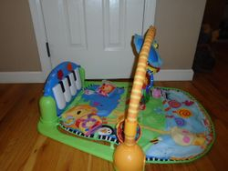 Fisher Price Discover 'n Grow Kick and Play Piano Gym - $25