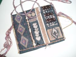 African inspired bag