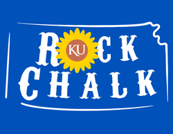 Rock Chalk Sunflower State - '47 T-Shirt Graphic