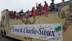 Krewe de Charlie Sioux in the Big Parade