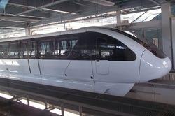 A Monorail Train Through The Looking Glass