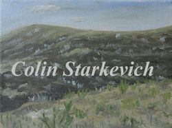 """Coulee Shadow (9 by 12"""" oil on canvas)"""