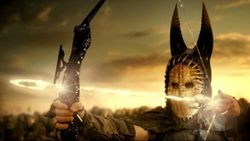 """Crystal bow / mask from """"IMMORTALS"""""""