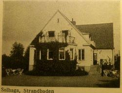 Pensionat Solhaga 1941