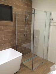 Semi Frameless showers