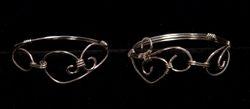 Sterling Silver Swirl Bracelets