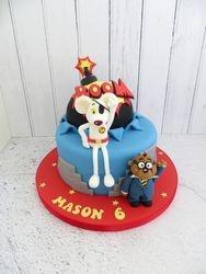 Dangermouse Birthday Cake