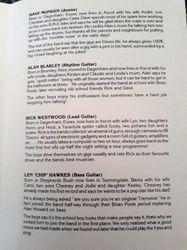 Booklet from Fan Club