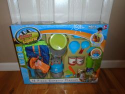 Berry Toys Little Explorer 15-Piece Complete Camping Play Set- BNIB - $20