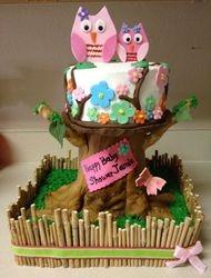 Emylu's Owl cake