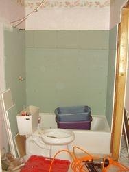 before pics of hall bath