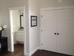 Powder Room off of Foyer
