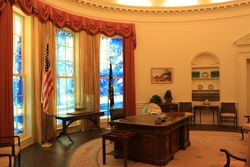 Oval Office at Carter Center, Atlanta GA