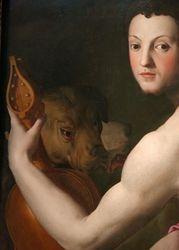 Bronzino, Portrait of Cosimo I de' Medici as Orpheus, Philadelphia