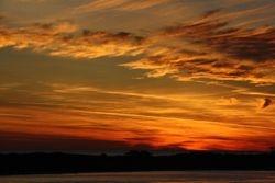 Sunset at Destin FL