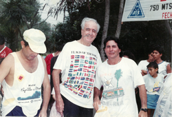 Pioneros del triathlon en Guayaquil